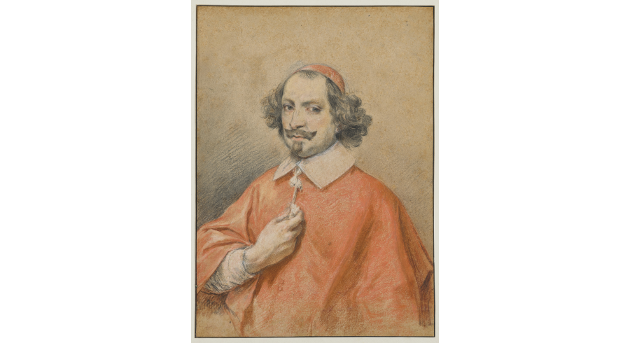 Portrait du cardinal Jules Mazarin